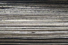 Stack of old rubber floor tile,layer Royalty Free Stock Photos