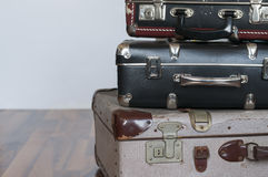 A stack of old suitcases Stock Photography