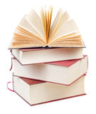 Stack of old thick books  Royalty Free Stock Photography