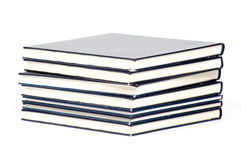 Stack of old used books Stock Photo