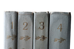 Stack of old and used books Royalty Free Stock Image