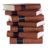 Stack of Old  vintage books Royalty Free Stock Photography
