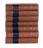 Stack of Old  vintage books Stock Images