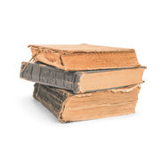 A stack of old vintage books Stock Images
