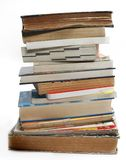 A stack of old vintage and modern books Royalty Free Stock Photography