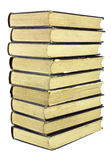 Stack of Old Worn Books Stock Image