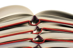 Stack of open books Royalty Free Stock Images