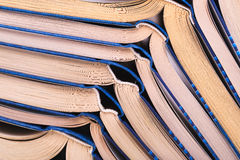 Open books close-up Royalty Free Stock Photos