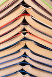 Open books close-up Stock Photography