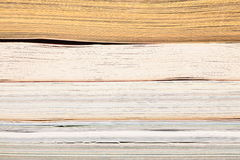 Stack of opened magazines Royalty Free Stock Image