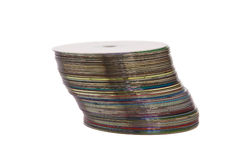 A stack of optical disks Royalty Free Stock Images