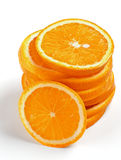 Stack of Orange Lobules Stock Photography