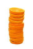 Stack of orange slices Stock Photos