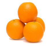 Stack of oranges Royalty Free Stock Image