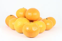 Stack of oranges Royalty Free Stock Images