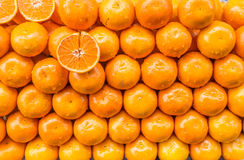 Stack of Oranges Stock Images