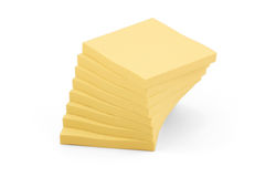 Stack of pads Royalty Free Stock Images