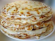 Stack of pancakes Royalty Free Stock Image