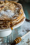 Stack of pancakes Royalty Free Stock Photos