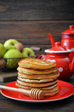 Stack of pancakes Stock Photos