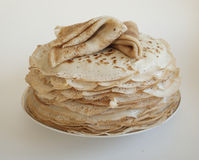 A stack of pancakes Royalty Free Stock Photo
