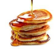 Stack of pancakes stock photos