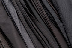 Stack of pants in store close up Royalty Free Stock Image