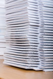 Stack of paper Royalty Free Stock Photo