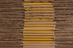 Stack of paper board Stock Photography