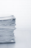 Stack of paper documents Royalty Free Stock Image