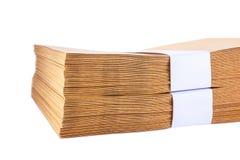 Stack  Paper envelopes Royalty Free Stock Image