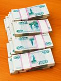 Stack of paper money Royalty Free Stock Photography