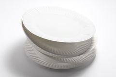 Stack of Paper Plates Royalty Free Stock Photo