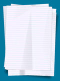 Stack of paper sheets Stock Image