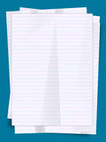 Stack of paper sheets Royalty Free Stock Image