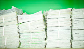 Stack of paper Stock Images