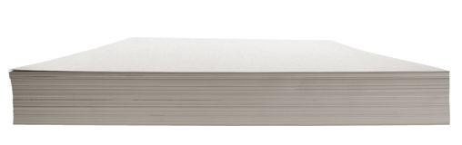 Stack of paper - white Stock Photography