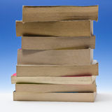 Stack of paperback books Stock Image