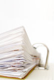 Stack of papers Royalty Free Stock Photo