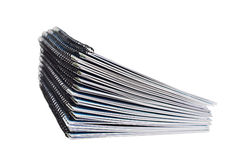 Stack of papers with the binding Royalty Free Stock Images