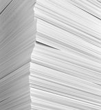 Stack of papers on whole background Royalty Free Stock Photo