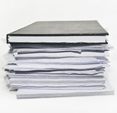 Stack paperwork Royalty Free Stock Photos