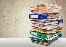 Stack, Paperwork, Paper Stock Photo