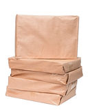 Stack of parcels Royalty Free Stock Photo