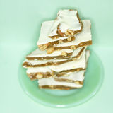 Peanut Butter Brittle Holiday Treat Stock Images