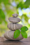 Stack of pebble Royalty Free Stock Photography