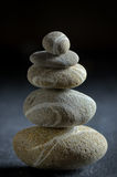 Stack of  pebble stone Royalty Free Stock Images