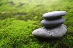 Stack of pebble stones Stock Image