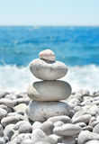 Stack Pebbles Royalty Free Stock Images