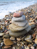 Stack of pebbles Stock Image